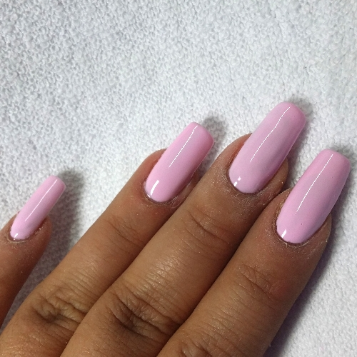 Gel Polish Anleitung Light Rose 03