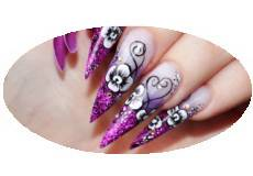 Orchidee Nailart