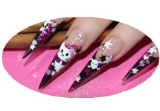 Nailart Pink Kitty
