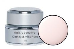 Nailista Sensitiv Glanzgel milchig rosa 15ml