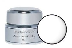 Nailista Sensitiv Glanzgel milchig 15ml