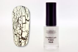 Nailista Crackle Polish - weiß