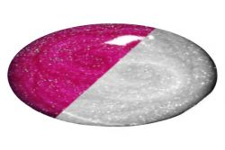 Nailista Thermo Pink - Weiss Glitter - 5ml