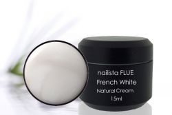 Nailista FLUE French White Natural Cream 15ml