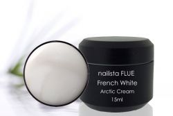 Nailista FLUE French White Arctic Cream 15ml