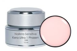 Nailista Kera Ultra 1-Phasengel Rose 15ml