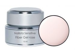 Nailista Sensitiv Fiber Gel rose 15ml