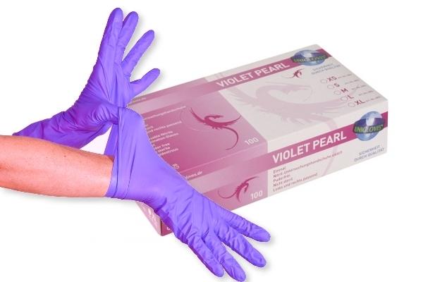 nitril handschuhe violet pearl. Black Bedroom Furniture Sets. Home Design Ideas