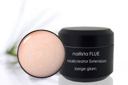 Nailista FLUE Nailcreator Extension Apricot Glam 15ml