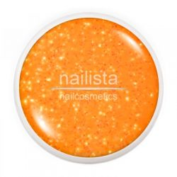 Farbgel Neon Glitter Orange 5ml